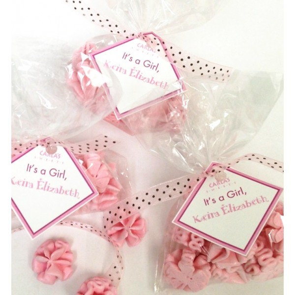 Mini Cellophane Bags with Mini Meringues, Mantecaditos, Brownies, Guava Cakes and more