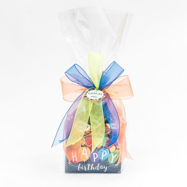 Happy Birthday Balloons Small Basket Boxes